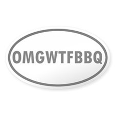 OMGWTFBBQ Decal