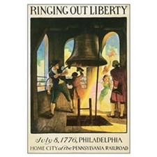 Philly Liberty Bell Vintage P