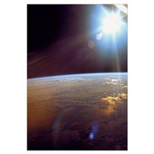 Earth from Apollo 11 Space Print gift