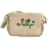 Ashlyn Flowers Messenger Bag