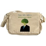 Broccoli Head Messenger Bag