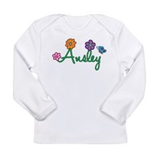 Ansley Flowers Long Sleeve Infant T-Shirt