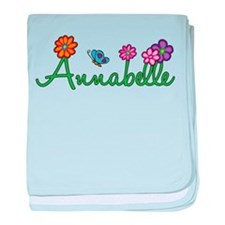 Annabelle Flowers baby blanket