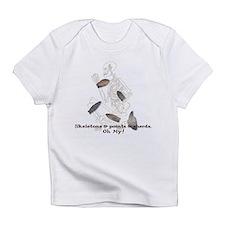 Skeletons, Points, & Sherds Infant T-Shirt