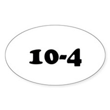 10-4 understood OK decal Decal