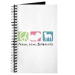 Peace, Love, Bullmastiffs Journal