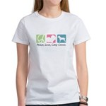 Peace, Love, Cane Corsos Women's T-Shirt