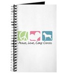 Peace, Love, Cane Corsos Journal