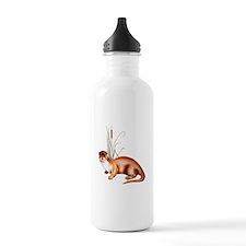 Cute River otter Water Bottle