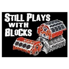 Still Plays With Blocks