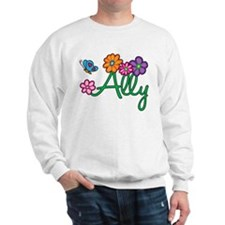Ally Flowers Sweatshirt