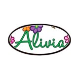 Alivia Flowers Patches