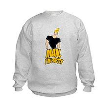 Man Im Pretty Kids Sweatshirt