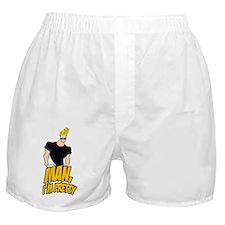 Man Im Pretty Boxer Shorts