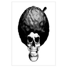 Skull With Afro