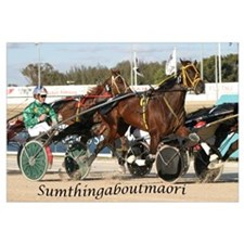 Funny Harness racing Wall Art