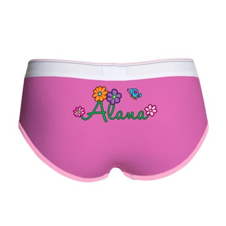 Alana Flowers Women's Boy Brief