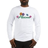 Alaina Flowers Long Sleeve T-Shirt