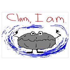 Clam, I am