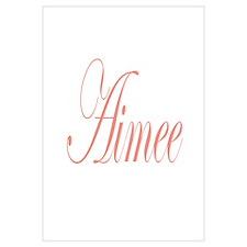 Cursive Aimee