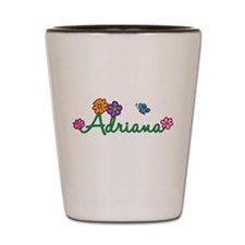 Adriana Flowers Shot Glass