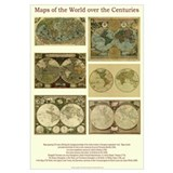 Maps of the World over the Centuries