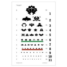 Inkblot Eye-Chart
