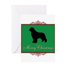 Merry Christmas Newfoundland Greeting Card