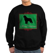 Merry Christmas Newfoundland Sweatshirt