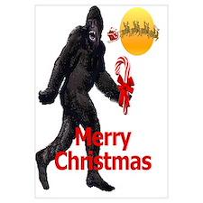 Bigfoot believes in Santa Claus