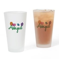 Abbigail Flowers Drinking Glass