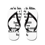 Your Own text Flip Flops