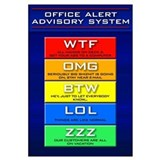 Office Alert Advisory (Plain)