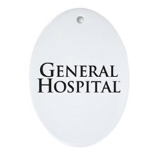 General Hospital Ornament (Oval)