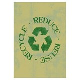 Distressed Reduce Reuse Recyc