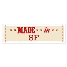 Made In 1_bumpersticker Bumper Car Sticker