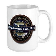 Large Wine Women Walleye Mug