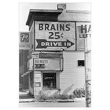 Brains 25 cents