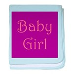 Baby Girl's Room baby blanket