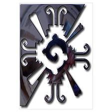 Mayan Design-metal