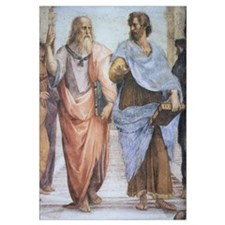 School of Athens (detail - Pl
