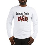 Lakeland Terrier Dad Long Sleeve T-Shirt