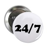 "24/7 2.25"" Button (10 pack)"
