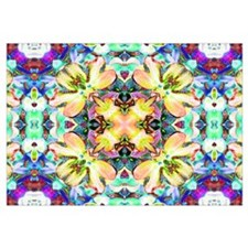 Four Flower Kaleidoscope