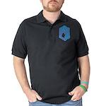Peace, Love, Berners Organic Toddler T-Shirt (dark