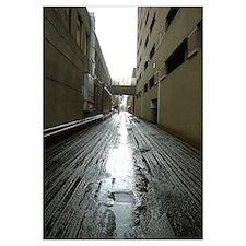 Framed Alleyway