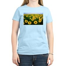Sunflowers in field T-Shirt
