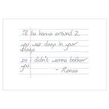 LB Fam Renee Letter
