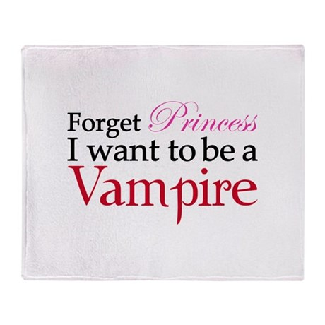 Forget princess Throw Blanket