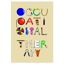 Cute Occupational therapy Wall Art